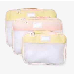 Calpack Packing Cubes Set (Sorbet)